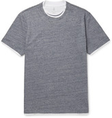 Brunello Cucinelli - Double-layer Cotton-jersey T-shirt