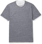 Brunello Cucinelli Double-Layer Cotton-Jersey T-Shirt