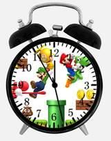 "Ikea New Super Mario Alarm Desk Clock 3.75"" Room Decor X09 Will Be a Nice Gift"