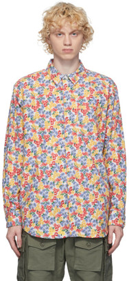 Engineered Garments Multicolor Flannel Floral Shirt