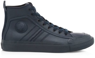 Diesel Astico High-Top Leather Sneakers
