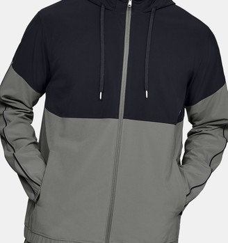 Under Armour Men's UA RECOVER Woven Warm-Up Jacket