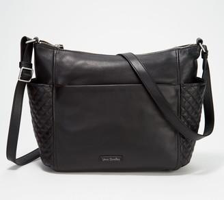 Vera Bradley Leather Carryall Shoulder Bag