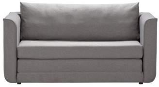 Argos Home Ada Fabric Sofa Bed - Light Grey