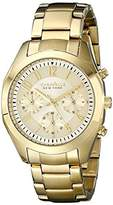 Bulova Caravelle New York Women's 44L118 Gold-Tone Stainless Steel Watch