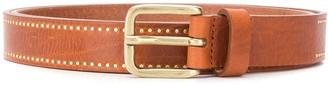 Closed Studded Buckled Belt