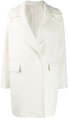 Tagliatore straight fit coat