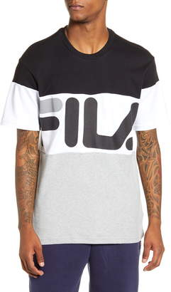 Fila Vialli Colorblock Logo T-Shirt