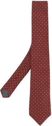 Brunello Cucinelli Polka-Dot Pointed Tie