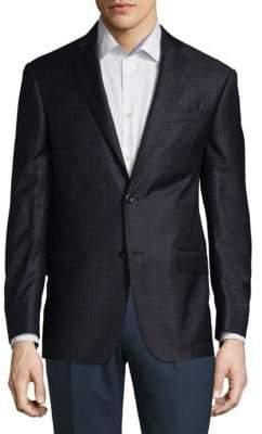 Michael Kors Two-Button Wool Blazer
