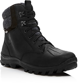 Timberland Men's Chillberg Waterproof Leather Cold Weather Boots