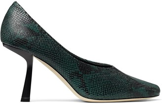 Jimmy Choo Marcela snake-effect 85mm pumps