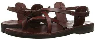 Jerusalem Sandals Tamar Buckle - Womens (Brown) Women's Shoes