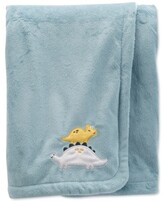 Thumbnail for your product : Carter's Baby Boys Dinosaur Fuzzy Plush Blanket