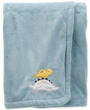 Carter's Baby Boys Dinosaur Fuzzy Plush Blanket