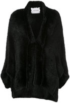 Yves Salomon mid-length coat - women - Mink Fur - S