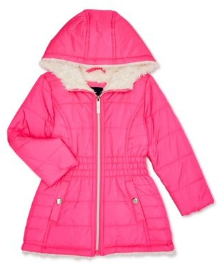 Limited Too Toddler Girls' Long Anorak Winter Jacket Coat