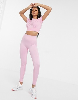 South Beach seamless leggings in pink