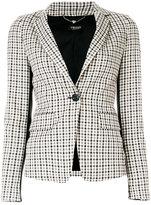 Twin-Set plaid check blazer - women - Polyamide/Polyester/Spandex/Elastane/Viscose - 42