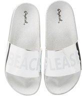 Charlotte Russe Qupid Beach Please Slide Sandals