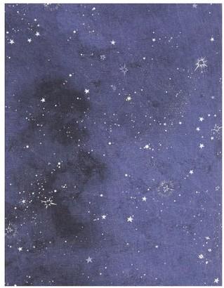 Summerill & Bishop - Constellation-print 65 X 150 Linen Tablecloth - Navy