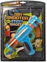 NEW Hog Wild Atomic Six Shooter with Sticky Target