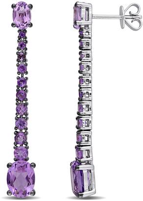 Diamond Select Cuts 14K 3.77 Ct. Tw. Amethyst Earrings