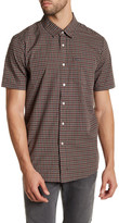 Volcom Arthur Plaid Modern Fit Short Sleeve Shirt