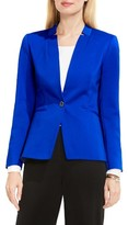 Vince Camuto Women's Notch Neck One-Button Blazer