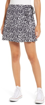 BP Wrap Miniskirt