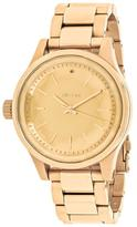 Nixon Facet 38 A409-502 Women's Gold Tone Stainless Steel Watch