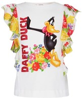 MonnaLisa Frilled Daffy Duck Top