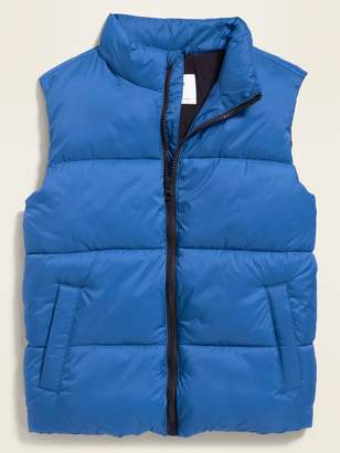 Old Navy Frost-Free Quilted Puffer Vest for Boys