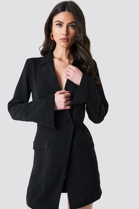 NA-KD Asymmetric Blazer Dress