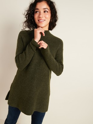 Old Navy Cozy Textured Tunic Sweater for Women