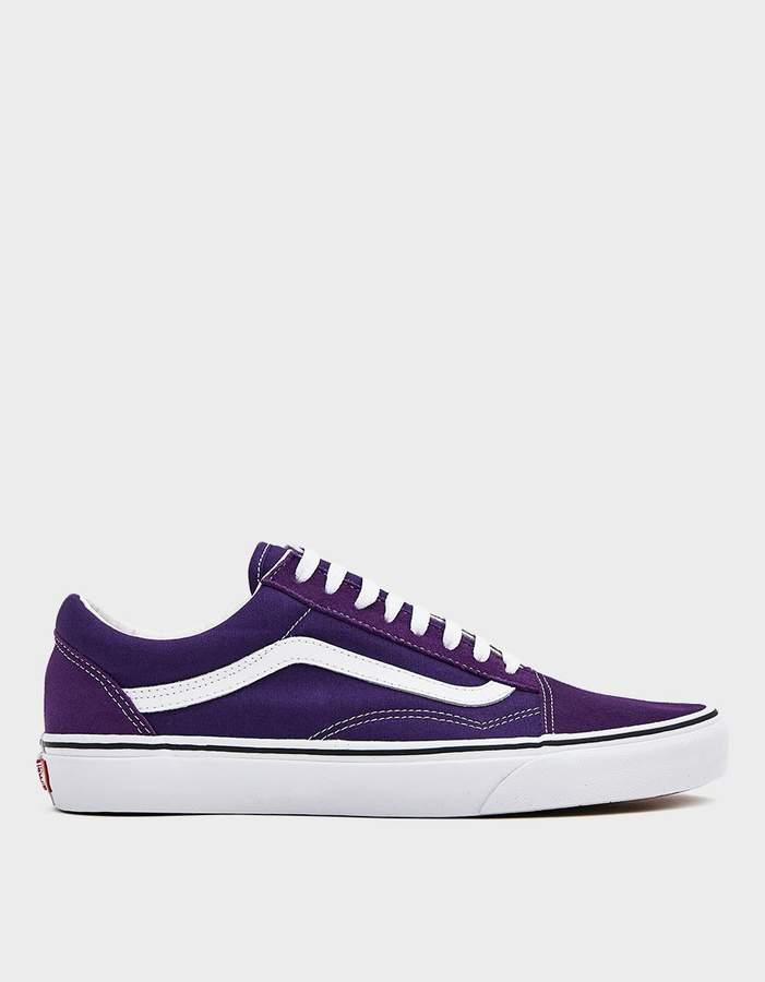 vans old skool purple