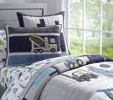 Pottery Barn Kids Construction Quilt