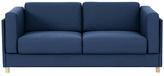 Habitat Colombo 3 Seater Fabric Sofa - Blue