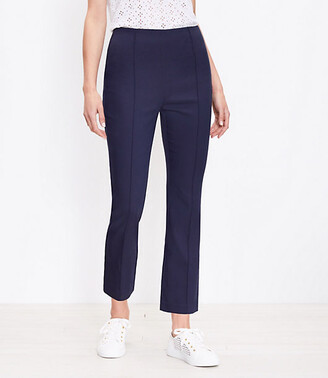 LOFT Curvy High Waist Kick Crop Pants