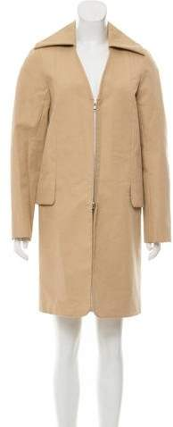 Rosetta Getty Lightweight Knee-Length Coat