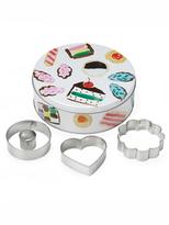 Kate Spade One Smart Cookie Tin and Cookie Cutters Set (4 PC)