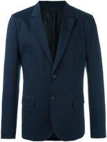Ami Alexandre Mattiussi lined 2 button jacket - men - Cotton/Linen/Flax/Acetate - 46