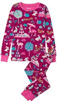Hatley Children's Enchanted Animal Party Pyjamas, Pink