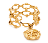 What Goes Around Comes Around Chanel Nautical Coin Bracelet (Previously Owned)