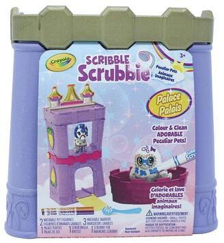 Crayola Scribble Scrubbie Peculiar Pets Palace Playset