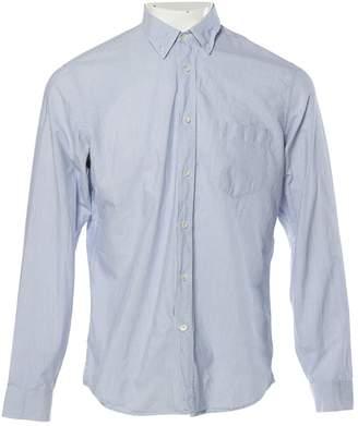 Maison Margiela Blue Cotton Shirts