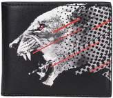 Marcelo Burlon County of Milan Sham Black Leather Wallet