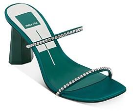 Dolce Vita Women's Naylin Crystal Embellished High-Heel Sandals