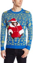 Blizzard Bay Men's Helpful Monkey Instructions Ugly Christmas Sweater