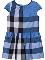 Burberry Blue Classic Check Dress